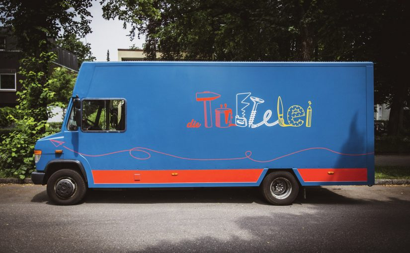 Der Tüftel-Bus – die rollende Kinderwerkstatt