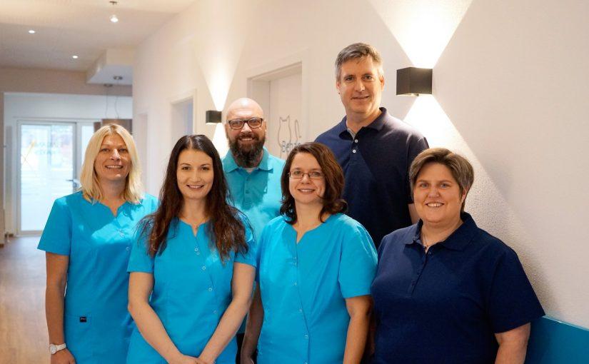 Team der Tierarztpraxis Kulmach
